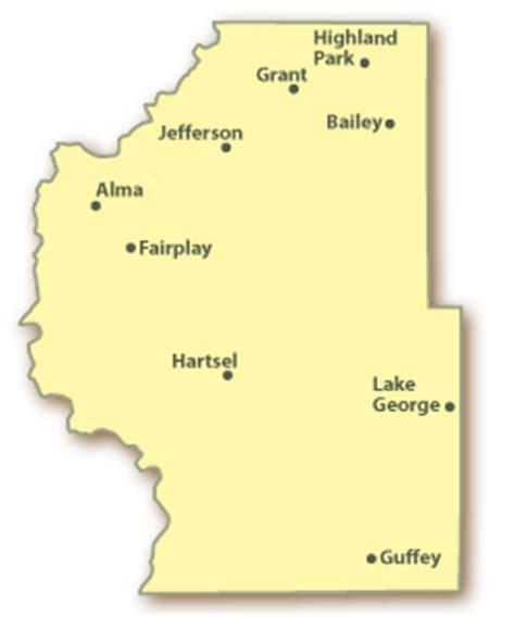 map of park county colorado colorado park county real estate homes for sale