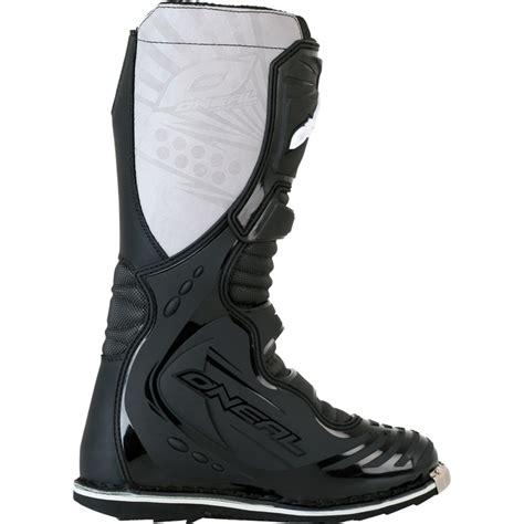 leather dirt bike boots oneal taranis off road mx steel toe cap enduro dirt bike