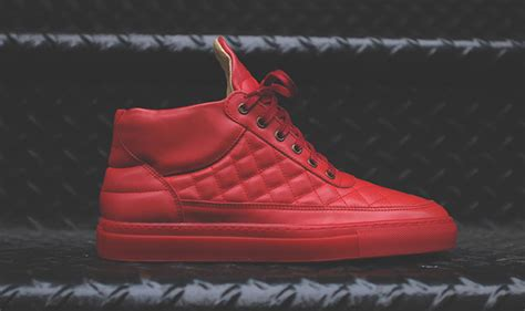 kith shoes ronnie fieg x filling pieces quilted rf mid shoes