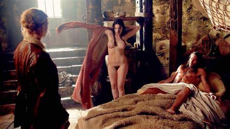 Lise Slabber Nude Bush Scene From Black Sails Scandal