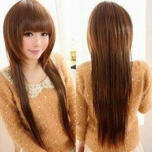 Model Rambut Yg Cocok Untuk Hidung Pesek by Model Rambut Yang Sedang Trend Saat Ini Klikharry