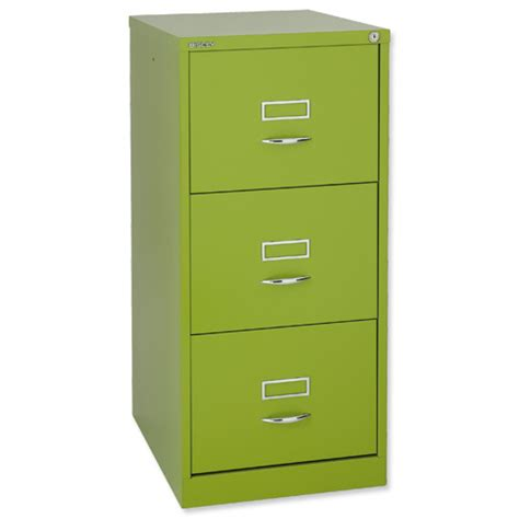 glo by bisley bs3c filing cabinet 3 drawer h1016mm green