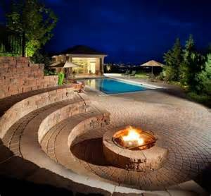 Sunken Backyard Fire Pit 17 Best Images About Outdoor Amphitheater On Pinterest