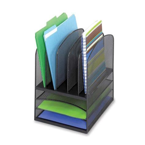 mesh desk organizer tray mesh letter tray desktop organizer safco 3266bl saf3266bl