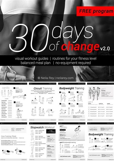 30 day workout plan for men at home no equipment 30 day workout program imgur what a great