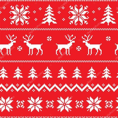 seamless pattern  classical sweater design stock vector  svetolkunova