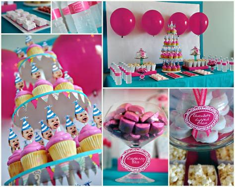themes first birthday girl 26 first birthday cake party ideas tip junkie