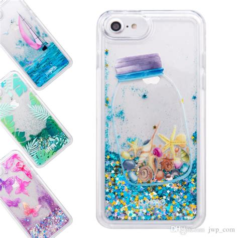 Water Glitter Iphone 5 6 6 by For Iphone 8 7 6s 6 Plus Liquid Glitter Waterfall