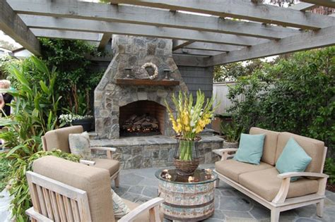 backyard fireplace ideas fireplace