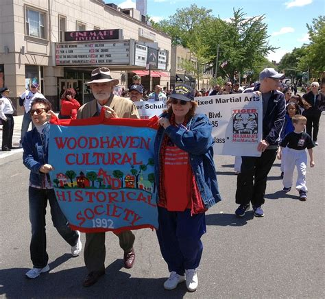 woodhaven represented in forest memorial day parade