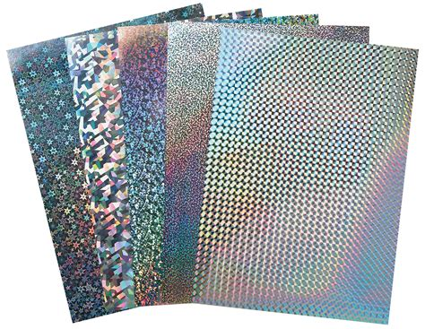 How To Make Holographic Paper - silver metallic diffraction paper silver holographic