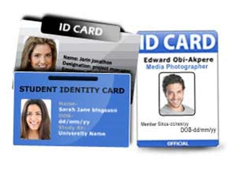 Id Card Maker Software Make Identity Card Create Id Badge Employee Name Tag Creator Id Badge Maker Template
