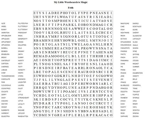 word search printable word searches printable frith has brought us