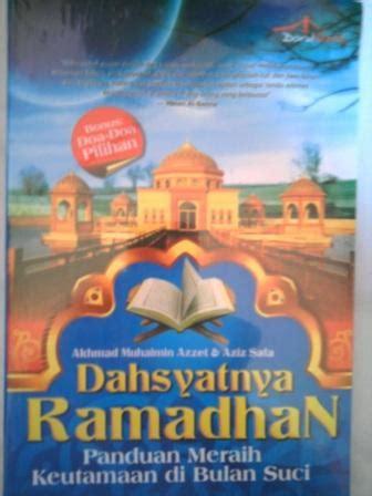 Buku Berobatlah Dengan Puasa Sedekah dahsyatnya ramadhan try 2b cool n smart
