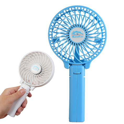 Visalux Rechargeable Emergency Fan Vs 8606 Li portable usb mini fan handheld mini fan outdoor cing office cooler polymer li ion 18650 battery