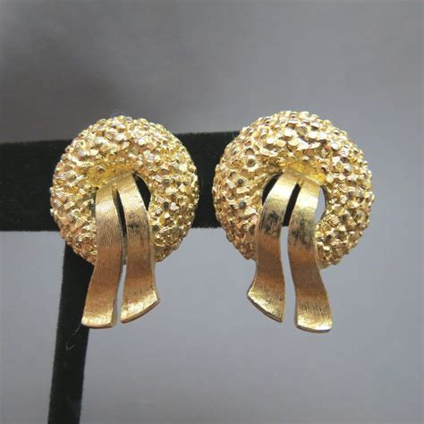 silver plated clip on sunflower earrings comfort clip earrings gold tone ez comfort clip