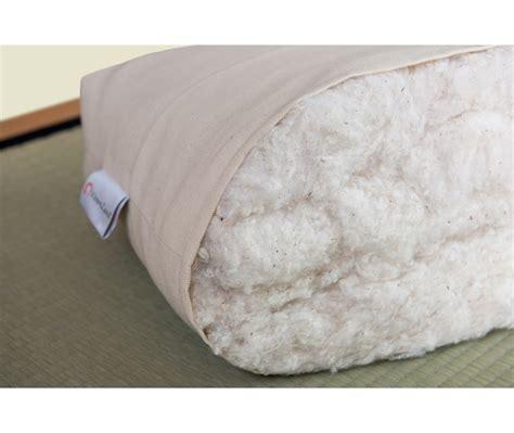 futon shiatsu futon shiatsu bio 6 cm 2 strati in cotone misure
