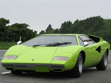 Green Lamborghini Countach Lamborghini Countach Wallpaper Green Www Pixshark