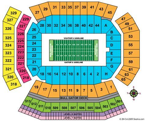 florida state stadium seating chart ben hill griffin stadium seating chart