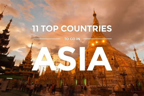 asia  top countries  visit   timers detourista