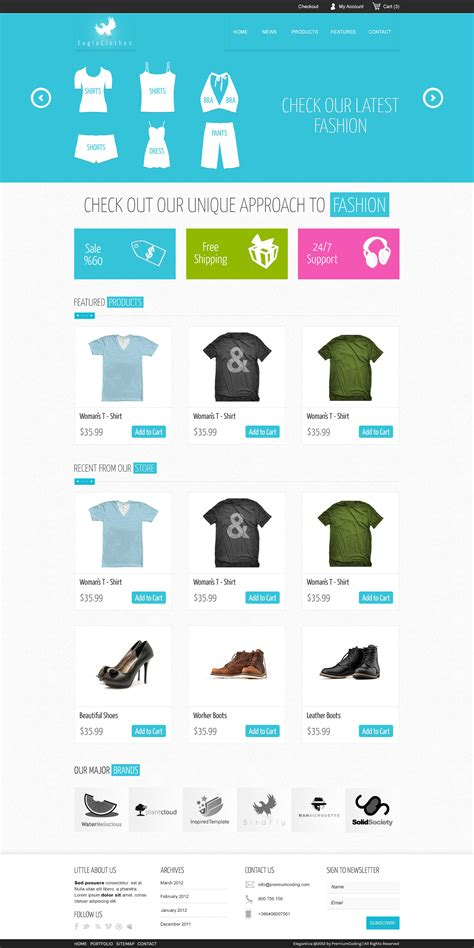 Ecommerce Templates freebie ecommerce website template psd premiumcoding