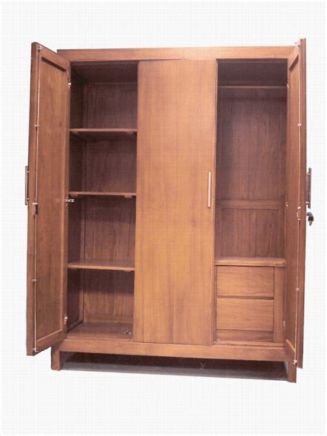 Wooden Cloth Cupboard Clothes Cupboard Cakra Jati Jepara