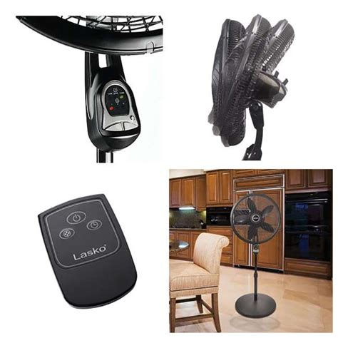 lasko 18 pedestal fan with remote 1843 lasko 18 inch cyclone pedestal fan with remote