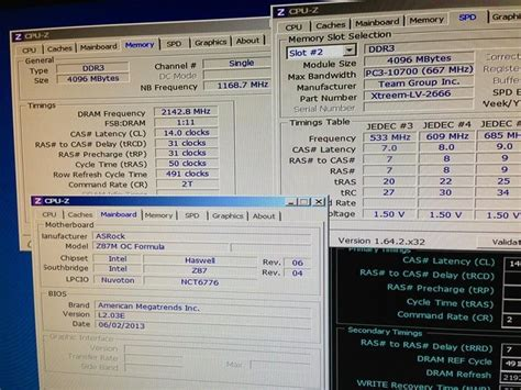 Oc Records Asrock Z87 New Memory Oc Record Of 4285 6 Mhz Tech News