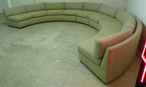 large curved sectional sofa large curved milo baughman sectional sofa at 1stdibs