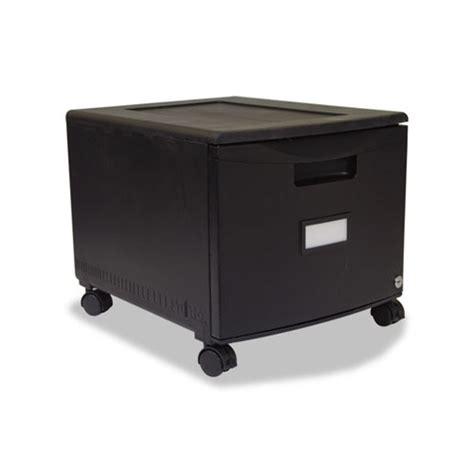 Storex File Drawer by Storex Single Drawer Mobile Filing Cabinet Stx61259b01c