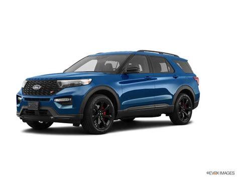 2020 Ford Explorer St Atlas Blue For Sale