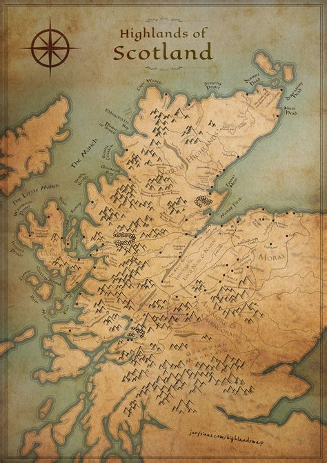 libro scotland mapping the nation a tolkienesque take scottish highlands map fantasy edition jurys inn