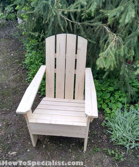 Building Adirondack Chairs by Juli 2016