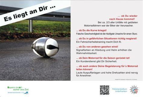 Fahrsicherheitstraining Motorrad Aschaffenburg by Motorradclub Stockstadt E V Polizei Unterfranken