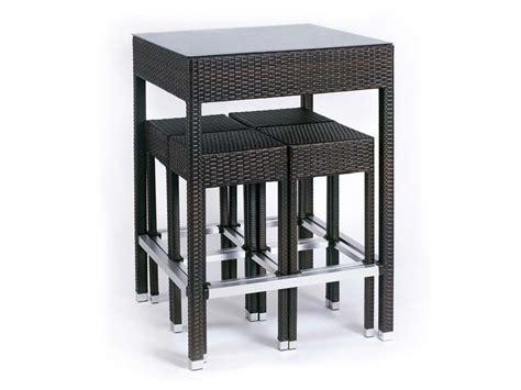 ensemble quot alto quot table haute 4 tabourets 65815