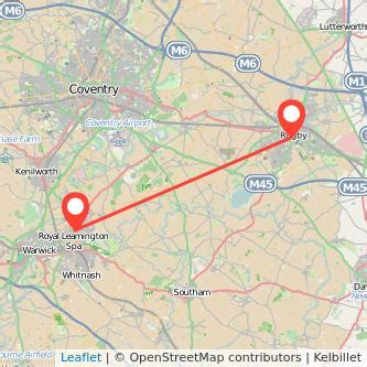 bus from leamington to rugby from £5   gopili.co.uk