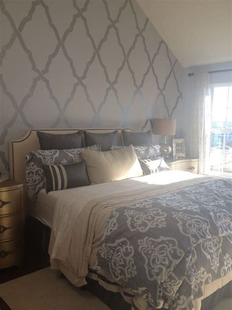 bedroom wallpaper feature wall ideas  pinterest