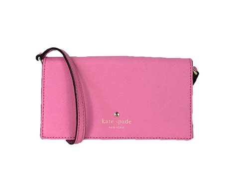 kate spade saffiano leather iphone 6 6s wallet crossbody pink