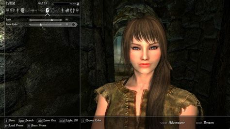 beautiful hair skyrim how to use cbbe or unp with mods to create player