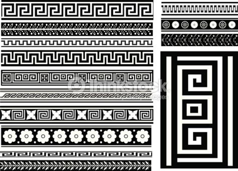 pattern types in art different types of seamless greek patterns vector art