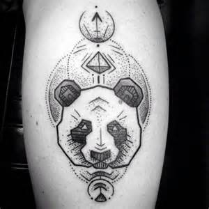 Oriental Designs 100 Panda Bear Tattoo Designs For Men Manly Ink Ideas