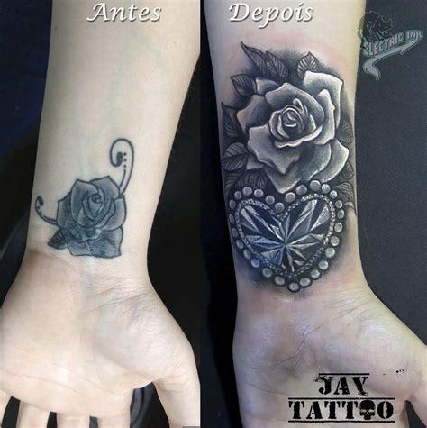 tattoos de rosas cover up cobertura de tatuagem rosas e diamante cora 231 227 o