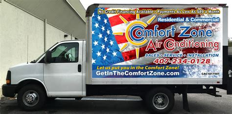 comfort zone air comfort zone air conditioning ah corp orlando florida fl