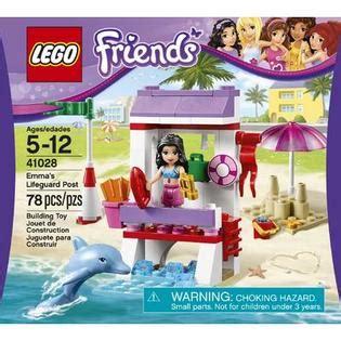 Lego 41028 Emmas Lifeguard Post lego friends s lifeguard post 41028
