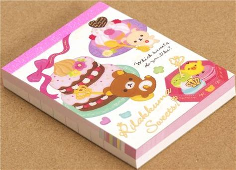 Memopad Nota Mini Nota Burger mini bloc de notas rilakkuma con tarta de san x blocs de notas papeler 237 a tienda