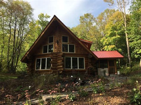 lakefront log home with homeaway the place cozy lakefront log home on deer vrbo