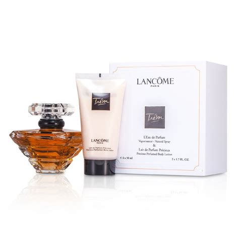 The 50ml 1 7oz tresor coffret l edp spray 50ml 1 7oz lotion 50ml
