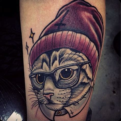 tattoo new school cat 243 best images about flora and fauna on pinterest tree