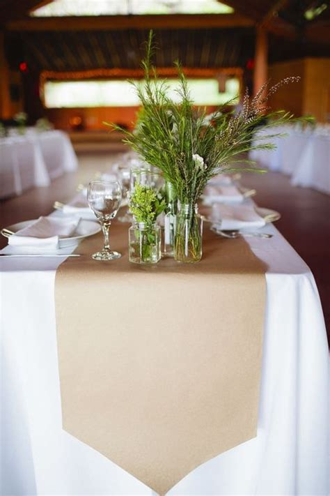 pink paper table runner get krafty 12 inspiring kraft paper accents for your