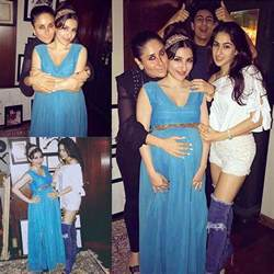 saif ali khan s birthday party sara soha or kareena